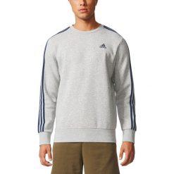 Bluza z okrągłym dekoltem. Czarne kardigany męskie adidas Performance, m, z bawełny, sportowe, z okrągłym kołnierzem. Za 235,16 zł.