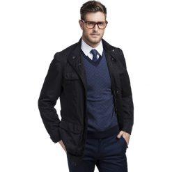 Płaszcz SIMONE 13-04LK. Brązowe płaszcze na zamek męskie marki Cropp, na zimę, l, sportowe. Za 399,00 zł.