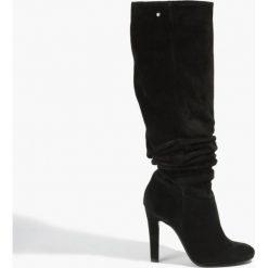 Kozaki czarne. Czarne buty zimowe damskie Badura. Za 471,99 zł.