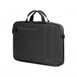 "Sumdex Continent  CC - 201GA 15""-16"" szara. Szare torby na laptopa marki Sumdex, z nylonu. Za 59,00 zł."
