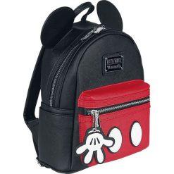 Torby i plecaki: Myszka Miki i Minnie Loungefly - Suit Plecak czerwony/czarmy