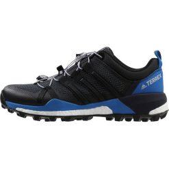 Adidas Performance TERREX SKYCHASER Obuwie hikingowe black/carbon. Czarne buty sportowe męskie adidas Performance, z materiału, outdoorowe. W wyprzedaży za 559,20 zł.