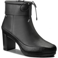 Botki damskie lity: Botki CLARKS - Londonrain Gtx GORE-TEX 261282874 Black Leather