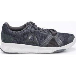 Reebok - Buty Flexile. Szare buty sportowe damskie Reebok, z materiału. W wyprzedaży za 119,90 zł.