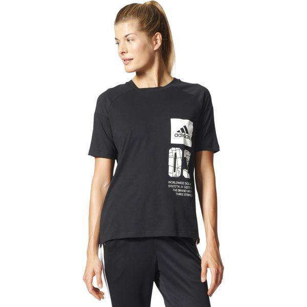 9a3e2d5d5 KOSZULKA ADIDAS PERFORMANCE LONDON TEE BK4298 - Czarne koszulki ...