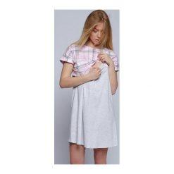 Bielizna damska: Koszula Cindy Szaro-różowa r. XL