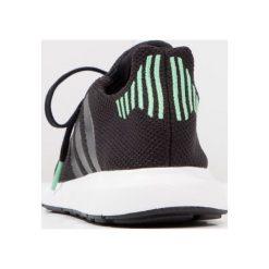 Adidas Originals SWIFT RUN  Tenisówki i Trampki black. Czarne tenisówki męskie marki adidas Originals, z materiału. W wyprzedaży za 153,45 zł.