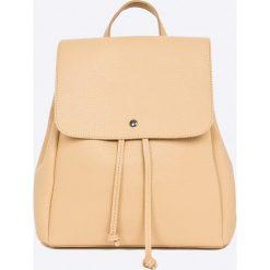 Answear - Plecak Garden of Dreams. Szare plecaki damskie ANSWEAR, ze skóry ekologicznej. W wyprzedaży za 69,90 zł.