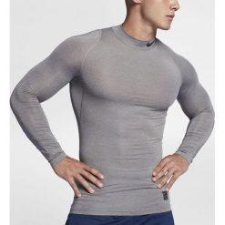 Nike Koszulka męska NP TOP LS Comp MOCK szara r. XXL (838079 091). Szare koszulki sportowe męskie marki Nike, m. Za 114,45 zł.