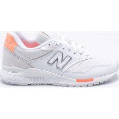 New Balance - Buty WL840WF. Czerwone buty sportowe damskie marki New Balance, z gumy. W wyprzedaży za 299,90 zł.