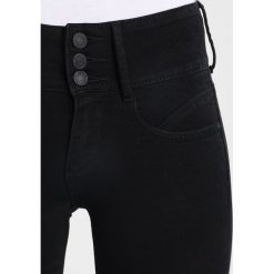 ONLY ONLANNA RAIN MID Jeans Skinny Fit black. Czarne jeansy damskie relaxed fit ONLY. Za 169,00 zł.