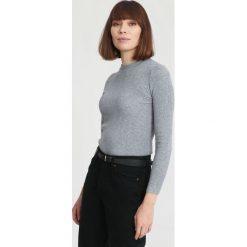 Szary Sweter Burnished. Szare swetry klasyczne damskie other, xl. Za 39,99 zł.