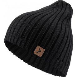 Czapka męska CAM604 - głęboka czerń - Outhorn. Czarne czapki zimowe męskie Outhorn. Za 24,99 zł.
