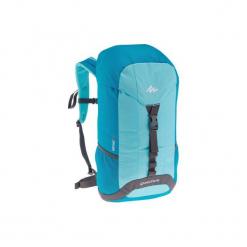 Plecak turystyczny NH100 30 l. Niebieskie plecaki męskie QUECHUA, z materiału. Za 49,99 zł.
