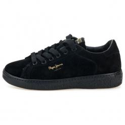 Pepe Jeans Tenisówki Damskie Roxy Bass 36 Czarny. Czarne tenisówki damskie Pepe Jeans, z jeansu. Za 415,00 zł.