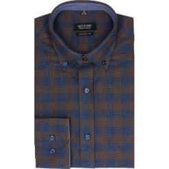 Koszula bexley f2482 długi rękaw custom fit brąz. Szare koszule męskie jeansowe marki Recman, m, button down, z długim rękawem. Za 69,99 zł.