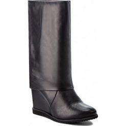 Kozaki OLEKSY - 2544/A89/000/000/000 Czarny. Szare buty zimowe damskie marki Oleksy, ze skóry. W wyprzedaży za 309,00 zł.