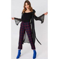 Długie sukienki: Rebecca Stella Sukienka typu kaftan z wycięciami - Black