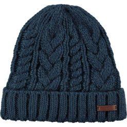 Barts - Czapka Somme. Niebieskie czapki zimowe damskie Barts, na zimę, z dzianiny. W wyprzedaży za 69,90 zł.