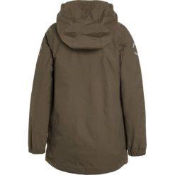 Mikkline BOYS JACKET SOLID Kurtka przeciwdeszczowa dusty olive. Brązowe kurtki chłopięce przeciwdeszczowe marki Reserved, l, z kapturem. Za 339,00 zł.