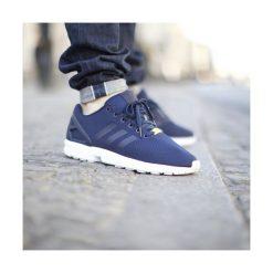 """Buty adidas ZX Flux Base Pack """"New Navy""""  (M19841). Niebieskie halówki męskie Adidas, z materiału, adidas zx. Za 279,99 zł."""