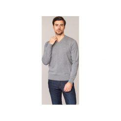 Swetry Armani jeans  RAPIOT. Czarne swetry klasyczne męskie marki Armani Jeans, z jeansu. Za 433,30 zł.