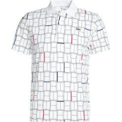 Lacoste Sport DJOKOVIC  Koszulka polo white/black/red/marino. Białe koszulki polo Lacoste Sport, l, z bawełny. Za 369,00 zł.