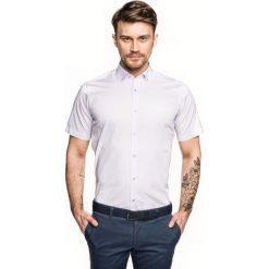 Koszula bexley 2500 krótki rękaw custom fit w. Brązowe koszule męskie marki QUECHUA, m, z elastanu, z krótkim rękawem. Za 99,99 zł.