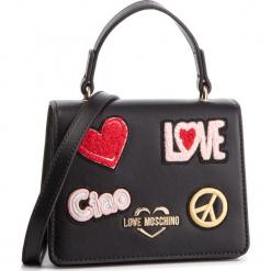 Torebka LOVE MOSCHINO - JC4084PP17LJ0000 Nero. Czarne torebki klasyczne damskie Love Moschino, ze skóry ekologicznej. Za 799,00 zł.