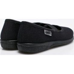 Befado - Tenisówki dziecięce. Czarne buty sportowe dziewczęce Befado, z materiału. W wyprzedaży za 24,90 zł.