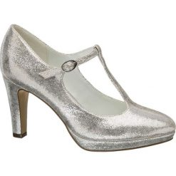 Czółenka damskie Catwalk białe. Białe buty ślubne damskie marki Catwalk, z materiału, na obcasie. Za 119,90 zł.