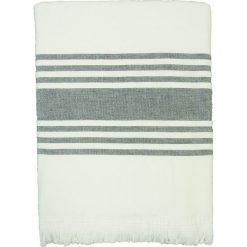 """Kąpielówki męskie: Fouta """"Karabouk"""" w kolorze szaro-białym – 160 x 90 cm"""