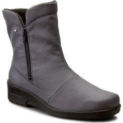 Botki JENNY - 22-68591-05 Street. Szare buty zimowe damskie Jenny, z materiału, street, na obcasie. W wyprzedaży za 209,00 zł.