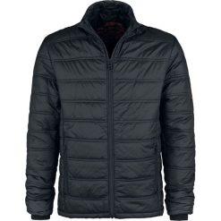 Shine Original Virgilio Kurtka czarny. Czarne kurtki męskie pikowane Shine Original, m, z aplikacjami. Za 164,90 zł.