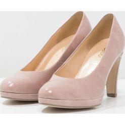 Buty ślubne damskie: Gabor Czółenka na platformie antik rosa