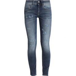 GStar LYNN MID SKINNY ANKLE Jeans Skinny Fit medium aged restored 177. Niebieskie jeansy damskie relaxed fit marki G-Star, z bawełny. Za 559,00 zł.