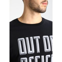 T-shirty męskie z nadrukiem: Wood Wood OUT OF OFFICE Tshirt z nadrukiem black