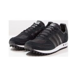 Adidas Originals LA TRAINER  Tenisówki i Trampki core black/footwear white. Czarne tenisówki męskie adidas Originals, z materiału. W wyprzedaży za 223,20 zł.