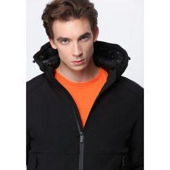 Czarna Kurtka Under Water. Czarne kurtki męskie pikowane marki Born2be, l, z aplikacjami, z dresówki. Za 159,99 zł.