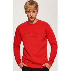 Bluza z napisem - Czerwony. Czerwone bluzy męskie rozpinane House, l, z napisami. Za 89,99 zł.