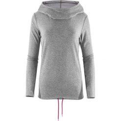 Outhorn Bluza sportowa damska Quick Dry Comfy Hoodie jasnoszary melanż r.  XL. Szare bluzy sportowe damskie Outhorn, xl, melanż. Za 96,08 zł.