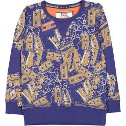 """Bluza """"Tape Loop"""" w kolorze granatowo-beżowym. Niebieskie bluzy niemowlęce 4FunkyFlavours Kids. W wyprzedaży za 102,95 zł."""