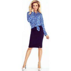 Koszula z KIESZONKAMI - jeans + DUŻE SERCA. Niebieskie koszule jeansowe damskie marki morimia, s. Za 139,99 zł.