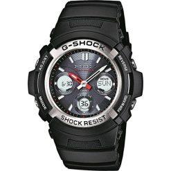 Zegarek Casio Męski AWG-M100-1AER G-Shock Solar Wave Ceptor czarny. Czarne zegarki męskie CASIO. Za 734,96 zł.