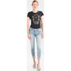 Odzież damska: Armani Exchange Tshirt z nadrukiem obsidian