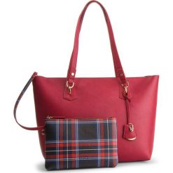Torebka LIU JO - M Tote E/W Hawaii N68146 E0554 Red 91656. Czerwone torebki klasyczne damskie marki Liu Jo, ze skóry ekologicznej. Za 599,00 zł.