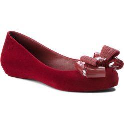 Baleriny ZAXY - Pop Flocked II Fem 82542 Burgund 51901 BB285030 02064. Czerwone baleriny damskie Zaxy, z materiału. W wyprzedaży za 159,00 zł.