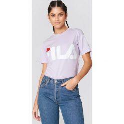 FILA Klasyczny T-shirt z logo - Purple. Fioletowe t-shirty męskie z nadrukiem marki Reserved, l, z bawełny. Za 100,95 zł.