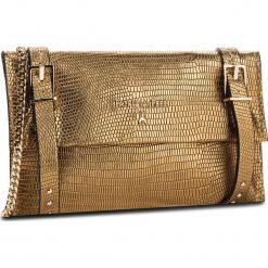 Torebka PATRIZIA PEPE - 2V8172/A4H1-Y342 Dark Gold. Żółte torebki klasyczne damskie marki Patrizia Pepe, ze skóry. W wyprzedaży za 689,00 zł.