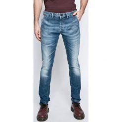 Pepe Jeans - Jeansy. Niebieskie jeansy męskie z dziurami Pepe Jeans. W wyprzedaży za 329,90 zł.
